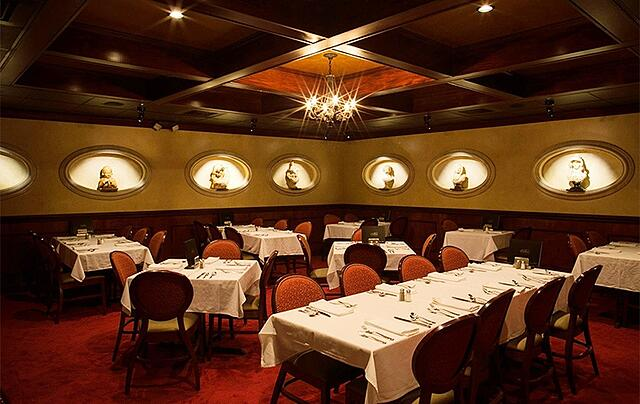 Group Dining in Tampa with Private Room Berns Steakhouse