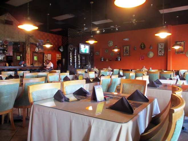 Nile Ethiopian Orlando Restaurants Private Room