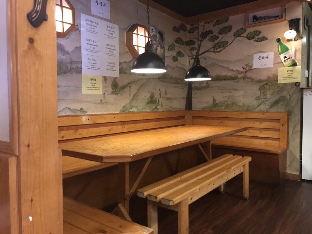 Group Dining in Tampa with Private Room One Family Korean