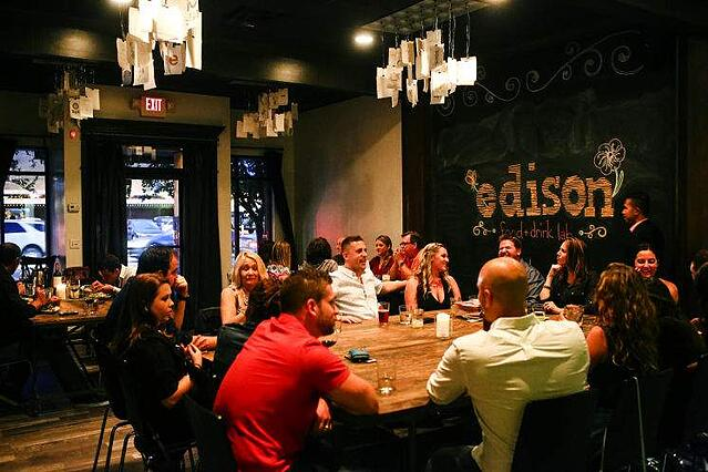 Group Dining in Tampa with Private Room Edison Food Lab